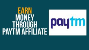 Earn using Paytm App. Paytm Affiliate