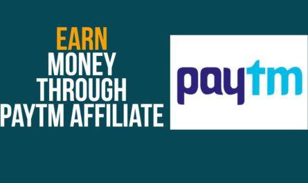 Earn using Paytm App. Paytm Affiliate