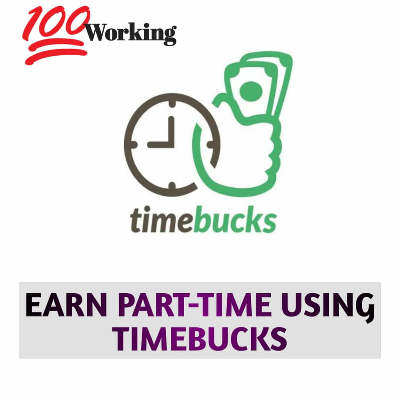 Timebucks Site To Make Money Online