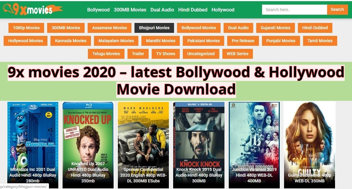 9x movies 2020 – latest Bollywood & Hollywood movie Download