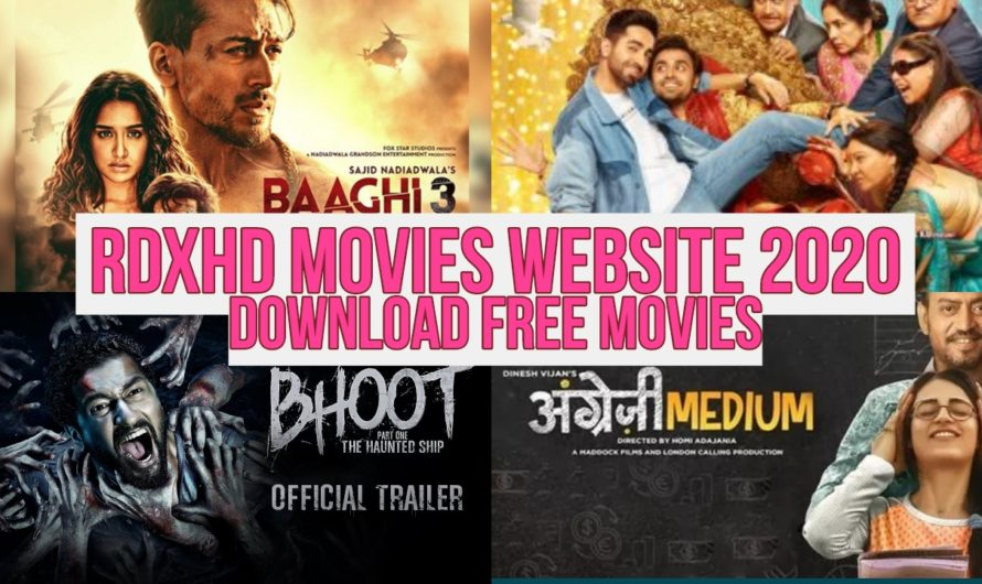 RdxHD Movies Website 2020: Bollywood, Hollywood Movies Free Download