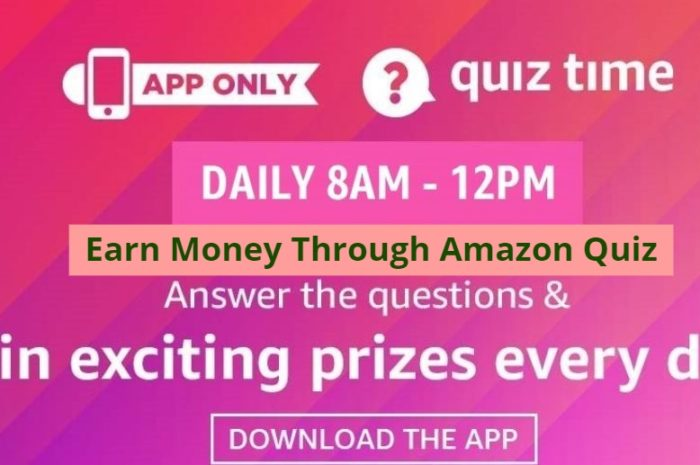 Amazon Quiz Contest All Answers Today 6th March 2020: Answer the Questions and Stand A Chance To Win Rs 20000 Pay Balance
