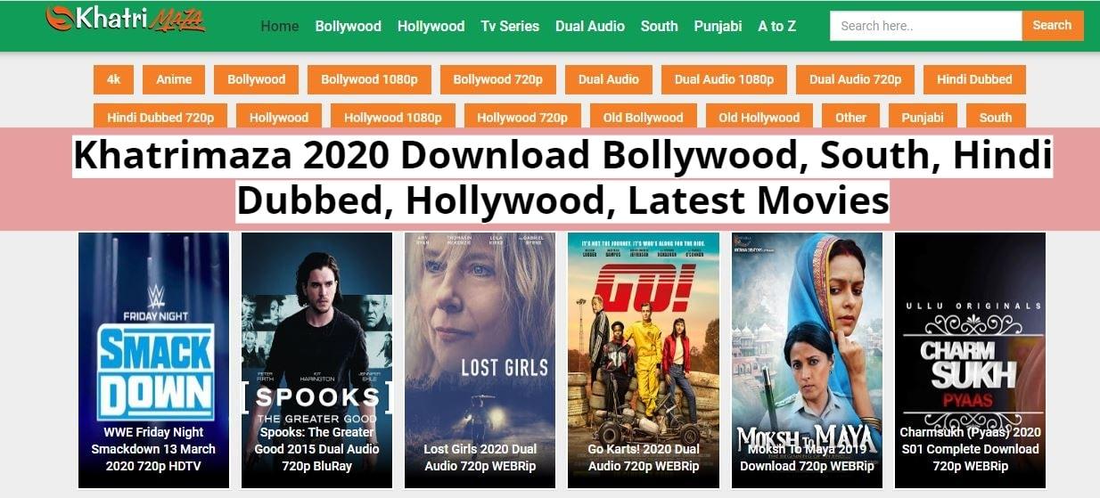 Khatrimaza 2020 Free Download New Bollywood, South, Hindi