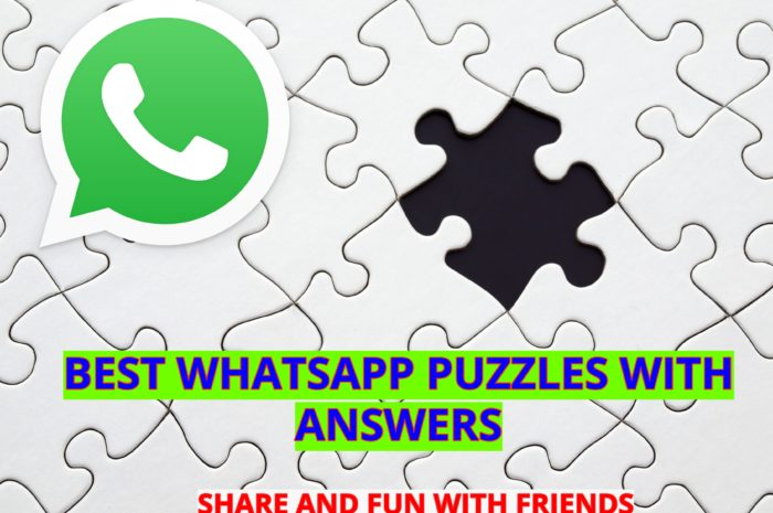 BEST WHATSAPP PUZZLES WITH ANSWERS [2020 LIST]