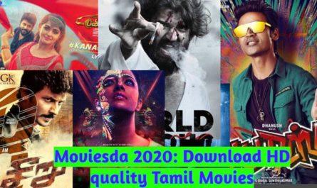 Moviesda 2020: Download HD quality Tamil Movies