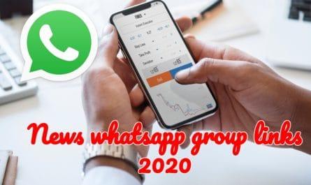 News whatsapp group links 2020
