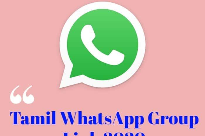 Tamil WhatsApp Group Link 2020