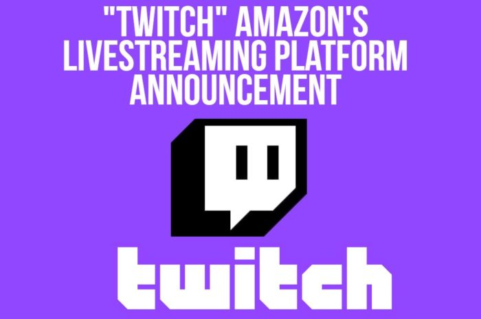 """Twitch"" Amazon's Livestreaming Platform Announcement"