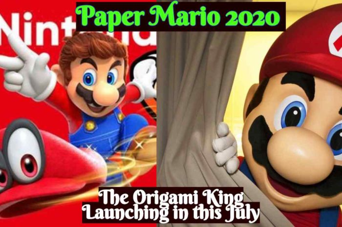'Paper Mario 2020: The Origami King'  Launching in this July