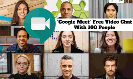 """Google Meet"" Free Video Chat With 100 People"