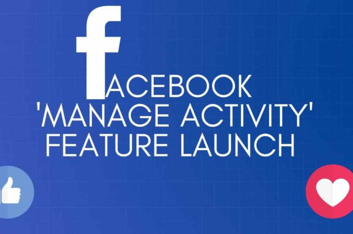 FACEBOOK: 'Manage Activity' Free Feature 2020: Hide your old posts from profile