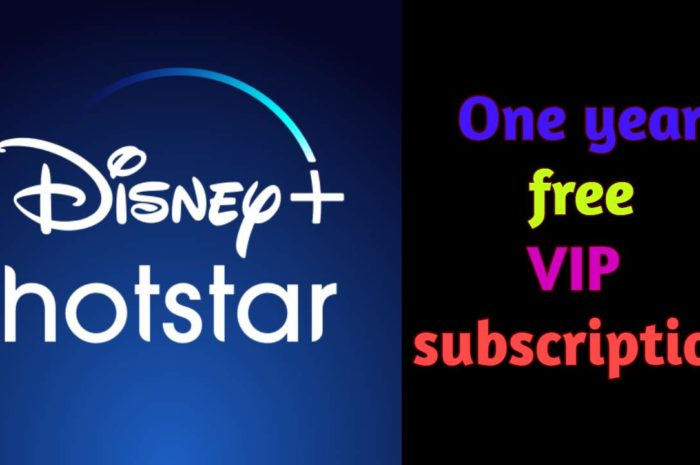 Free Disney Hotstar App VIP Subscription 2020