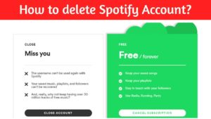 How to delete Spotify Account? : How to Cancel Subscription? : Free guide 2020