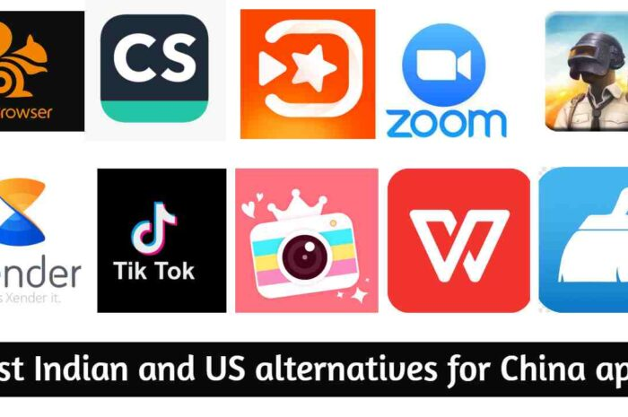 Remove China apps, Use better Indian and US alternative apps