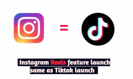 Instagram Reels feature launch same as Tiktok
