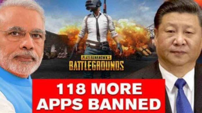 India bans PUBG, and 118 other Chinese mobile applications