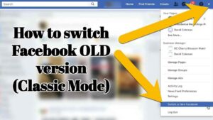 how to get facebook old version