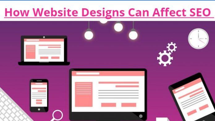 How Website Designs Can Affect SEO